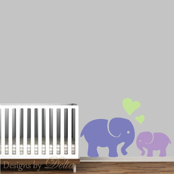 Elephant Wall Decal for Nursery