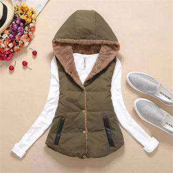 High Quality Winter Hodded Coat
