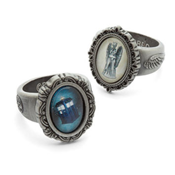 Doctor Who Vintage Cameo Rings