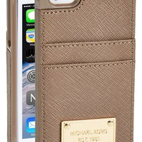 Women's MICHAEL Michael Kors Card Holder iPhone 5 & 5s Case