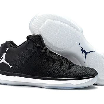 Air Jordan XXXI Retro AJ31 Black Cat Men Basketball Sneaker
