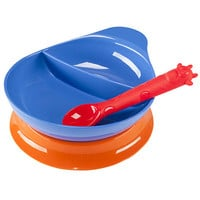 Divided Bowl Feeding Set-Royal - Elegant Baby - Top Baby Gifts - FAO Schwarz®