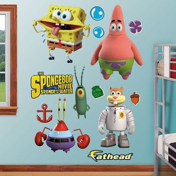 SpongeBob SquarePants Out of Water Collection Wall Decals by Fathead