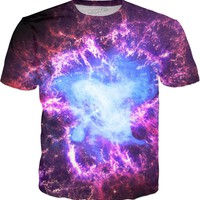 Crab Nebula | Universe Galaxy Nebula Star Clothes | Rave & Festival Shirt