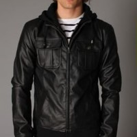 UrbanOutfitters.com > Charles & 1/2 Third Engine Jacket