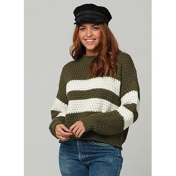 Ozzy Sweater - Military