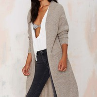 So Heated Duster Cardigan