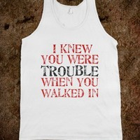 i knew you were trouble - Music Mad