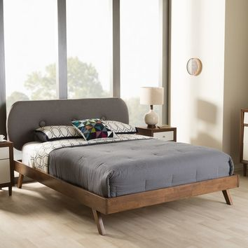 Strick & Bolton Art Mid-Century Platform Bed | Overstock.com Shopping - The Best Deals on Beds