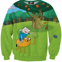 Adventure Time Friends Forever Crewneck Sweatshirt