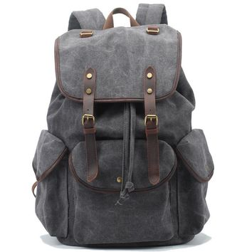 High Quality Retro Canvas Backpack