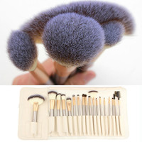 24-Piece Essential Brush Collection Professional Cosmetic Tool Beauty