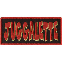 Insane Clown Posse Men's Juggalette Embroidered Patch Red