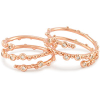 Kendra Scott: Zoe Ring Set, Rose Gold