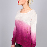 Needle Point Ombre Knit | Tops at Pink Ice