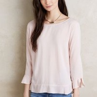 Velvet by Graham and Spencer Derry Blouse in Peach Size: