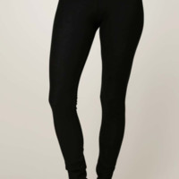 Stretch Knit Twill Legging (black or grey)
