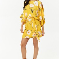 Floral Blouson Dress
