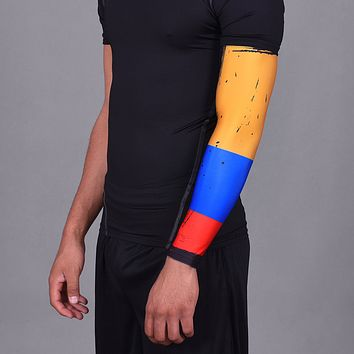 Colombia Brushed Flag Arm Sleeve