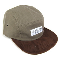 Quiet Life: Cord Combo 5 Panel - Moss / Chocolate