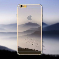 Huge Mountain iPhone 5 5S iPhone 6 6S Plus creative case + Nice Gift Box -125
