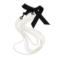 LANVIN - LONG PEARL STRAND NECKLACE