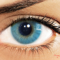 Color Lenses Solotica HIDROCOR Blue
