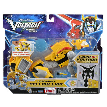 Voltron Legendary Defender (2017) Yellow Lion 8 in. Action Figure