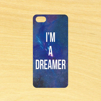 Im a Dreamer Beatles Quote Art iPhone 4/4S 5/5C 6/6+ and Samsung Galaxy S3/S4/S5 Phone Case