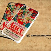 Vintage, Alice In Wonderland Poster Samsung Galaxy S3 S4 S5 Note 3 , iPhone 4(S) 5(S) 5c 6 Plus , iPod 4 5 case
