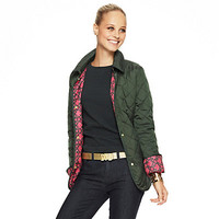 Women's Jackets - Quilted Nylon Barn Jacket | C. Wonder