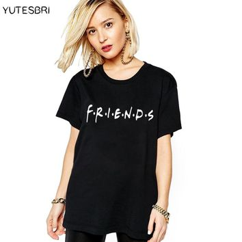 The Bff TV show Women's christmas Clothing Fashion T-shirt Friends T shirt Summer Female casual Tshirt japanese fitnessTee Shirt