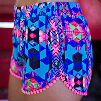 High Stakes Shorts - Royal