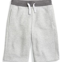 Boy's Vince French Terry Sweat Shorts,