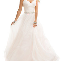 Flirt Ball Gown with Beaded Back