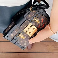 Louis Vuitton LV Hot Sale Women Shopping Bag Leather Box Crossbody Satchel Shoulder Bag