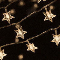 Warm White LED Indoor Bedroom Christmas Party Decor String Star Fairy Lights