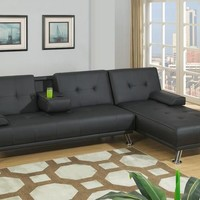 Adjustable Sectional - Futon