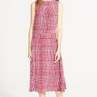Women's Tory Burch Print Silk Midi Dress