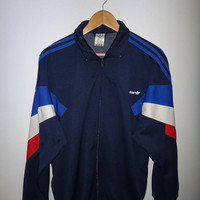 Vintage Adidas Jacket Sweater Trainer Ivan Lendl Tennis Streetwear Fashion