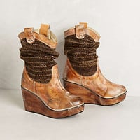 Anthropologie - Slouchy Sweater Boots