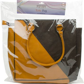 Faux Leather Danube Storage Tote Bag