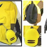 Pokemon Pikachu Full Size School Backpack with Bonus Coin Pouch