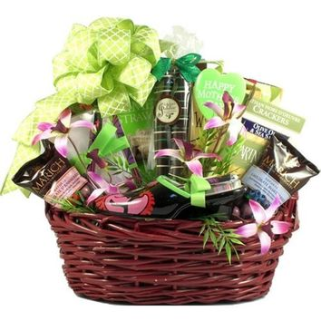 A Mothers Touch Gift Basket, A Gift basket For Mom