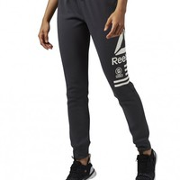 Reebok One Series Quick Cotton Pant - Coal | GetInspired.no