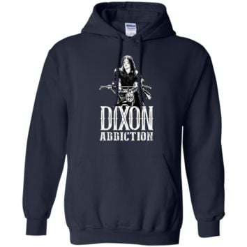 Daryl Dixon Addiction Fitted T-Shirt G185 Gildan Pullover Hoodie 8 oz.