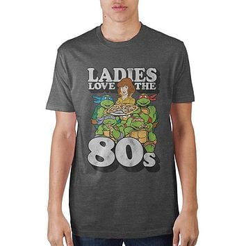 Teenage Mutant Ninja Turtles Ladies Love The 80s T-Shirt