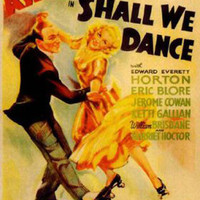 Shall We Dance Fred Astaire Vintage Movie Poster