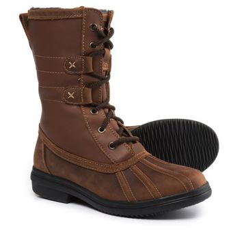 Clarks Tavoy Juniper Mid Duck Boots - Waterproof, Leather (For Women)