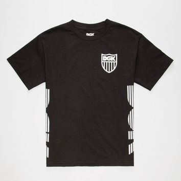 Dgk Crest Mens T-Shirt Black  In Sizes